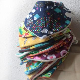 Bafou / bavoirs foulards