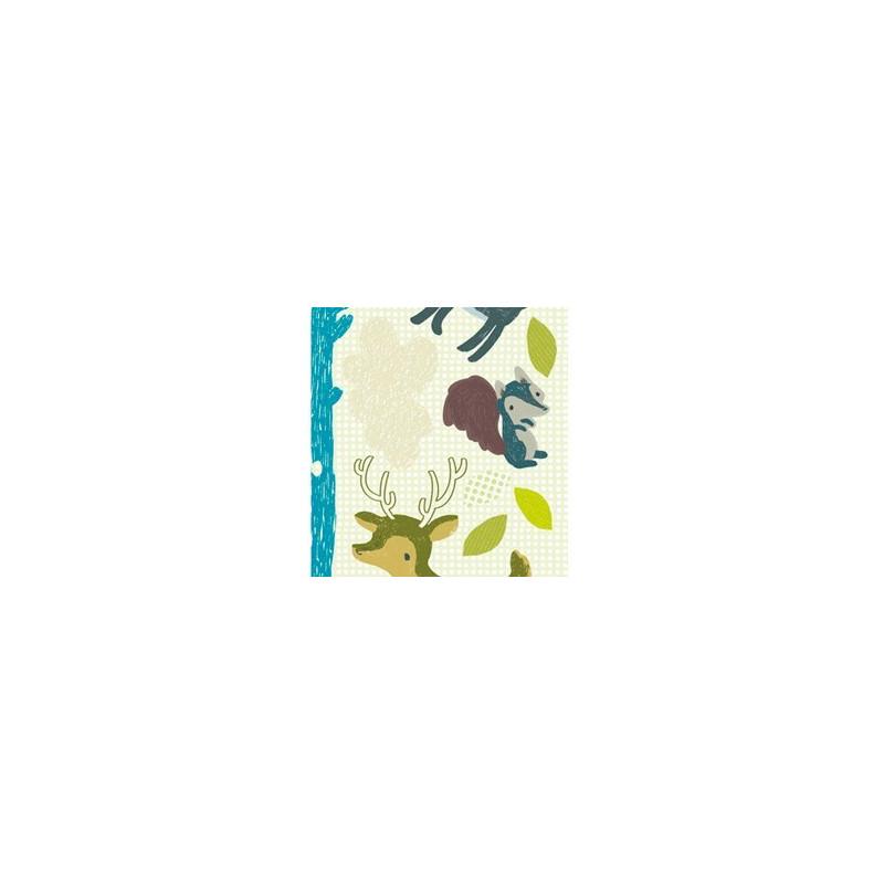 Fabuleux Stickers La Fort Bleue Le Petit Zbre