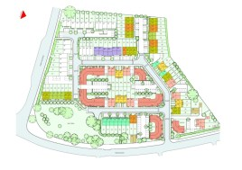 The Haverings - site layout