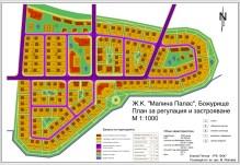 Вариант със сложна структура и вътрешно-квартално озеленяване