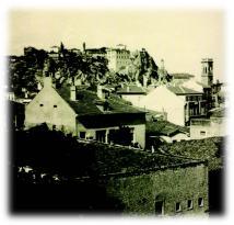 1927 год. Панорама към Джамбаз тепе