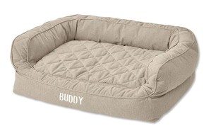 1 Orvis Lounger Deep Dish Dog Bed