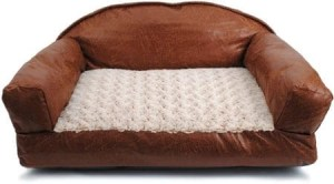 Dallas Manufacturing Co Brinkmann Faux Leather Sofa Bed