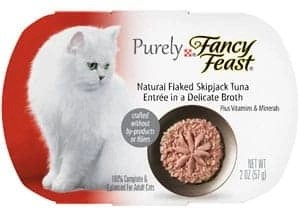 Purina Purely Fancy Feast Natural Cat Food