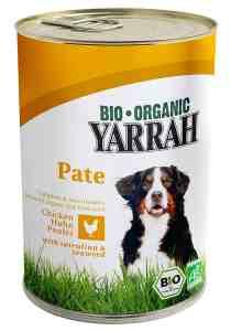 Biologisches Alleinfutter für Hunde.