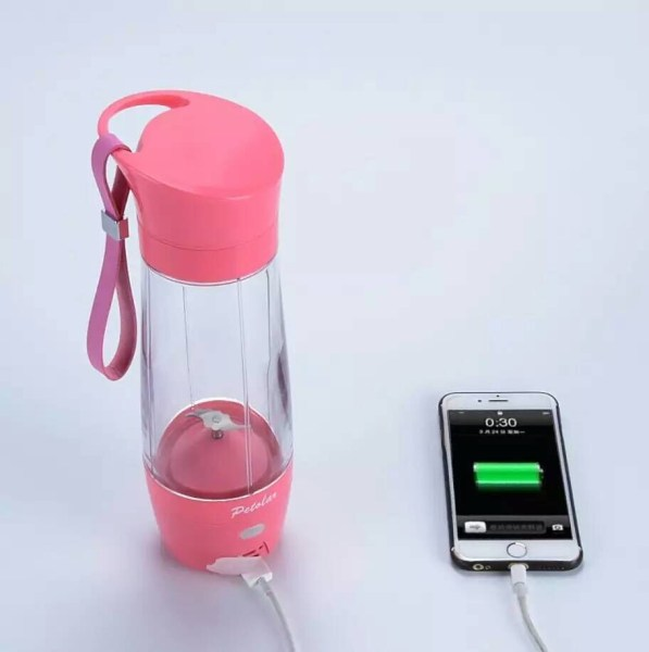 fruit infused water bottle cup electric power bank     USB Power Bank Electic fruit water bottle  3