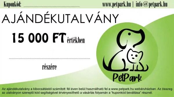 PetPark Ajándékutalvány