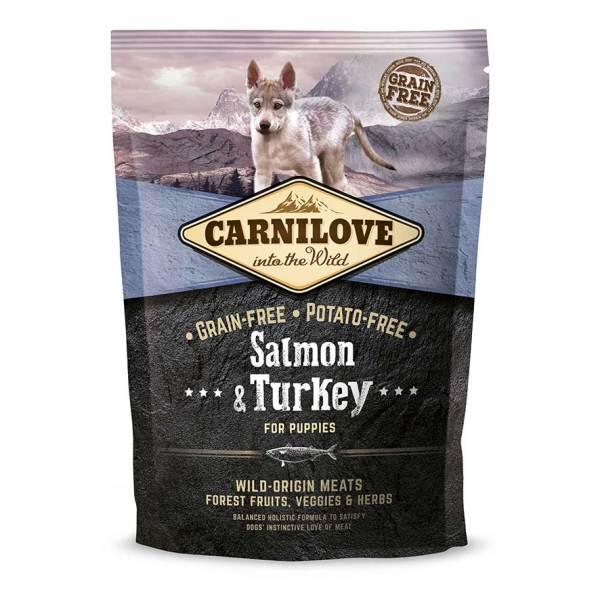 Carnilove száraztáp kölyökkutyáknak - Lazac és pulykahússal 1,5 kg