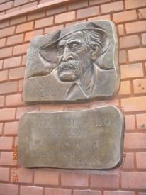 Kós Károly emléktábla Újvárosban
