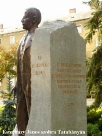 Esterházy János szobor Tatabánya - szobor felirata