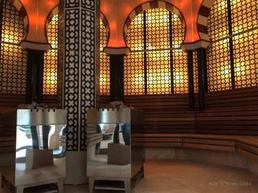 """Sauna """"Alhambra""""."""