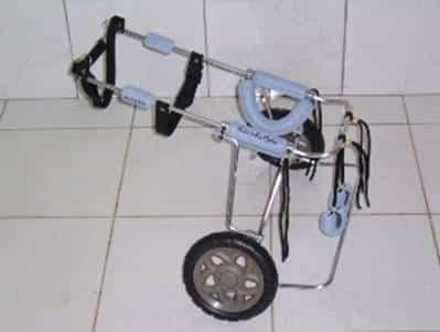 Cadeira de rodas para o amigão