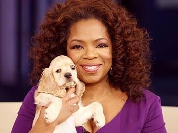 Oprah Winfrey adota novo cãozinho