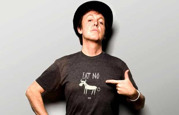 Paul McCartney estrela campanha vegetariana contra o peru de Natal