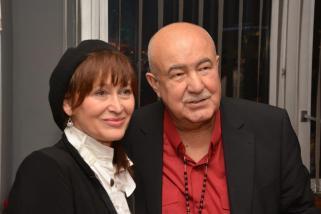 S Petrou Černockou, kterou objevil v roce 1966 pro svou kapelu Pastýři.