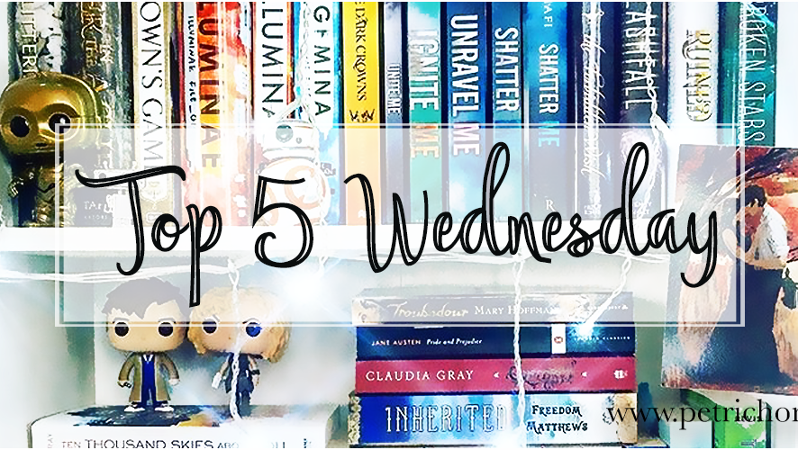 Top 5 Wednesday - Classes based on books/characters