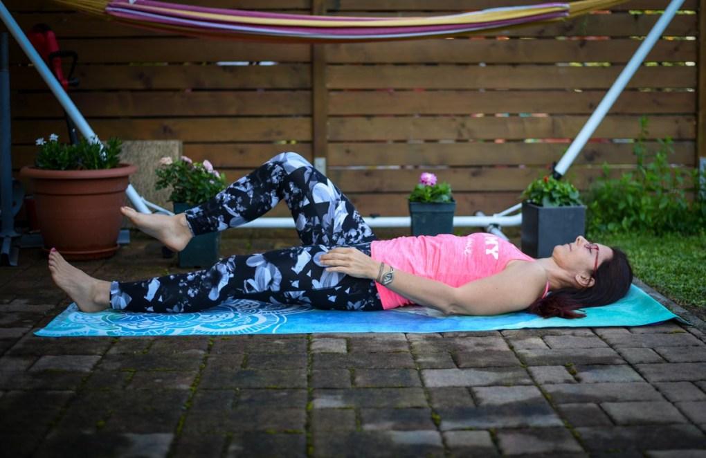 Sprostitev kolkov, pilates