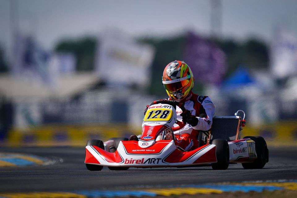 Alex Irlando chiude 16° il Campionato Europeo FIA Karting