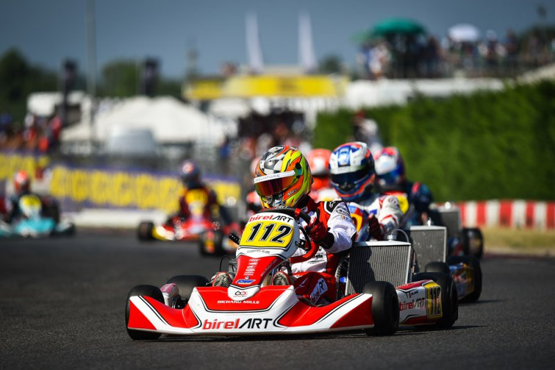 Last FIA Karting Euro Championship round for Alex Irlando