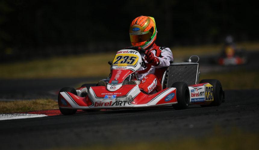 Leonardo Marseglia doubles the podium in Kerpen