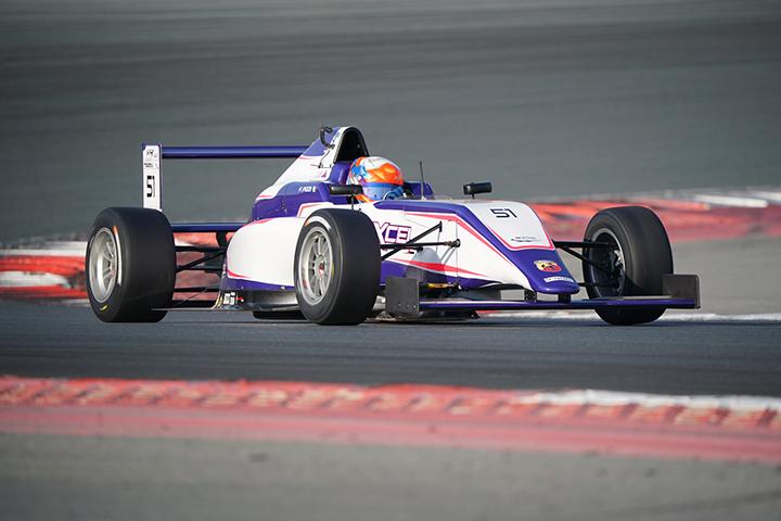 Francesco Pizzi heads to F4UAE round 2 in Yas Marina Circuit