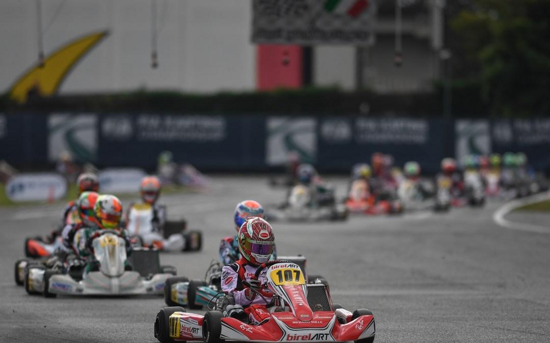 Leonardo Marseglia closes in fourth place at the weekend of the FIA World Championship