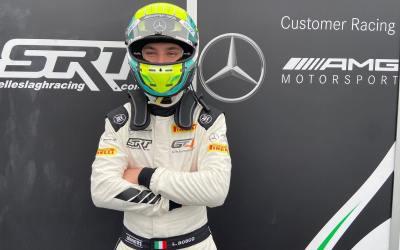 Luca Bosco makes his debut in the GT4 European Series at MonzA CIRCUIT!