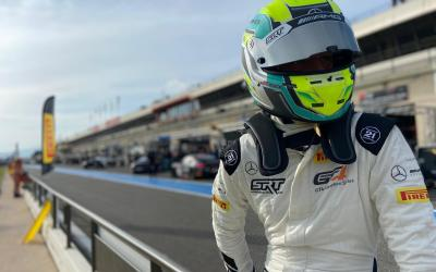 Luca Bosco one step away from the podium at Paul Ricard