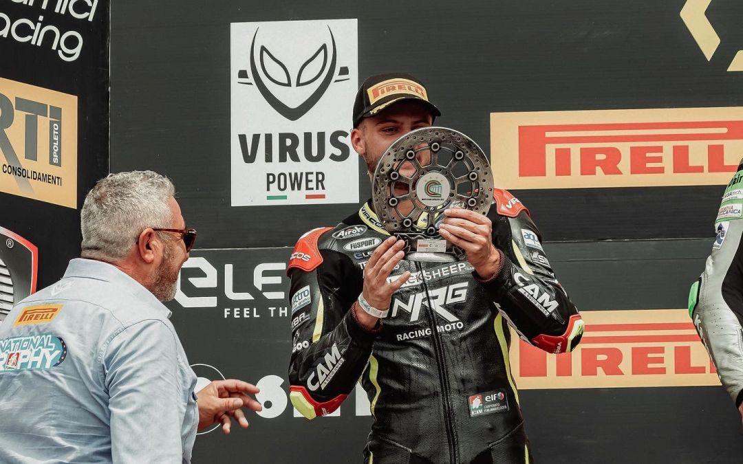 Alessio Finello ancora sul podio, secondo posto nel National Trophy di Imola
