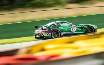 """Luca Bosco back on track """"in the Green Hell"""" of Nurburgring"""
