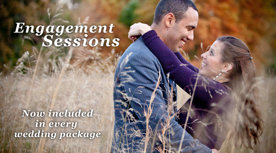 Engagement Photos Now Included With Every Wedding Package
