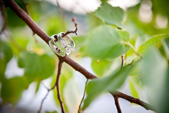 close up of rings at Bay Ridge Club in Annapolis