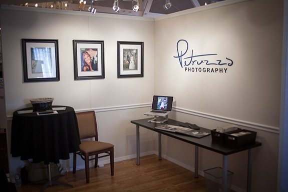 Petruzzo Photography Wedding Expo Booth
