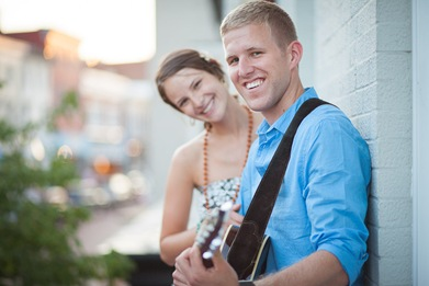 Rooftop engagement session in annapolis maryland