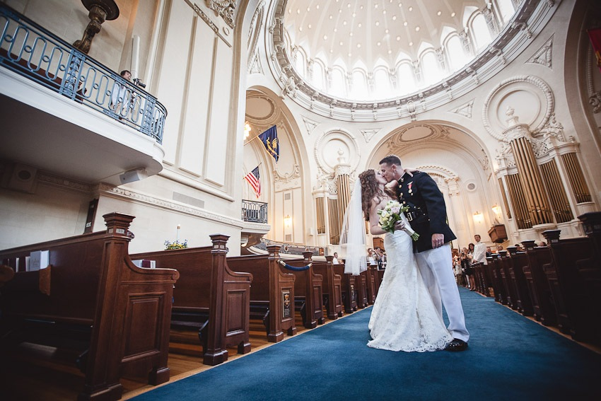 Maureen & Taylor's Wedding at the Naval Academy & Navy-Marine Corps Memorial Stadium