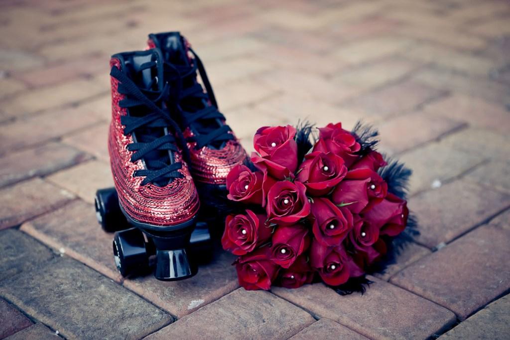 wedding-shoes-roller-skates