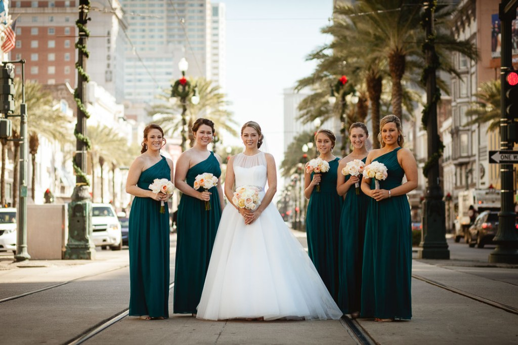 bride-and-bridesmaids-downtown-new-orleans