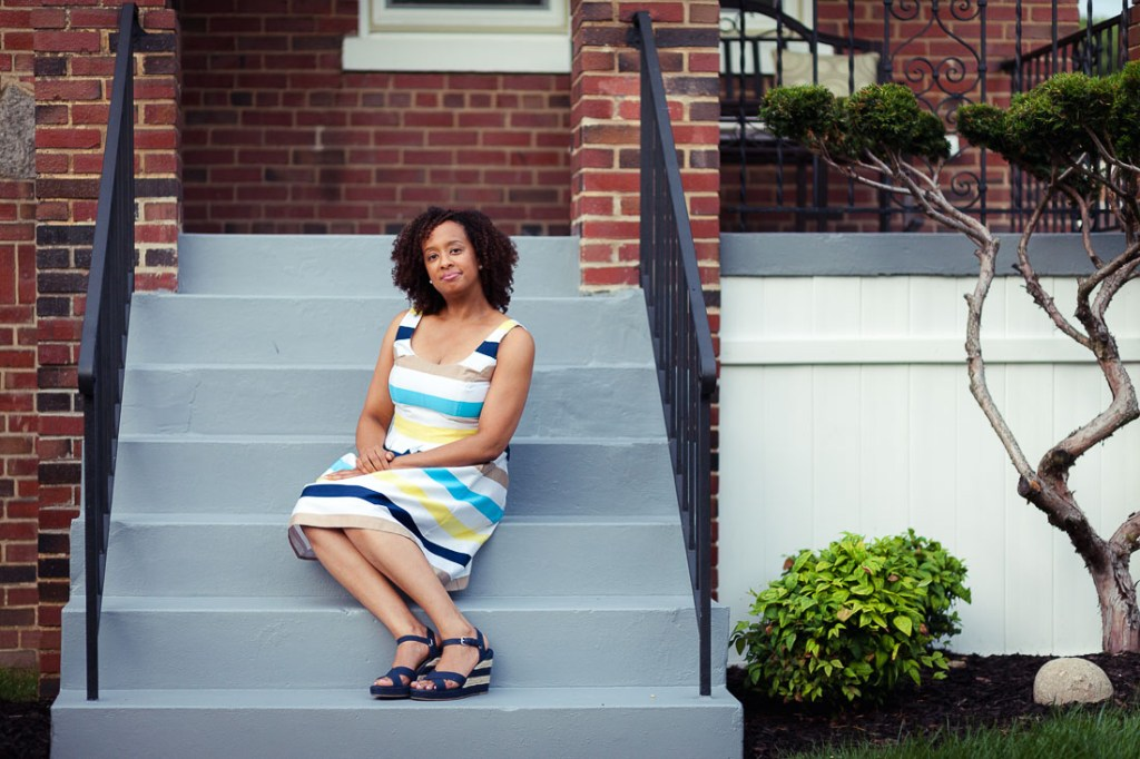 woman-on-house-steps