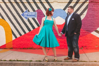 engagement session with murals and graffiti in baltimore 06