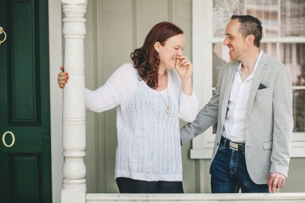 Coffee and murals engagement session in Annapolis petruzzo photography 17