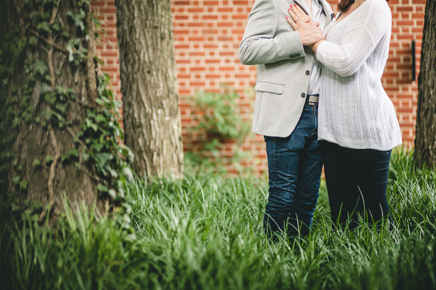 Coffee and murals engagement session in Annapolis petruzzo photography 18
