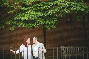 Coffee and murals engagement session in Annapolis petruzzo photography 25
