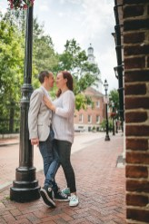 Coffee and murals engagement session in Annapolis petruzzo photography 27
