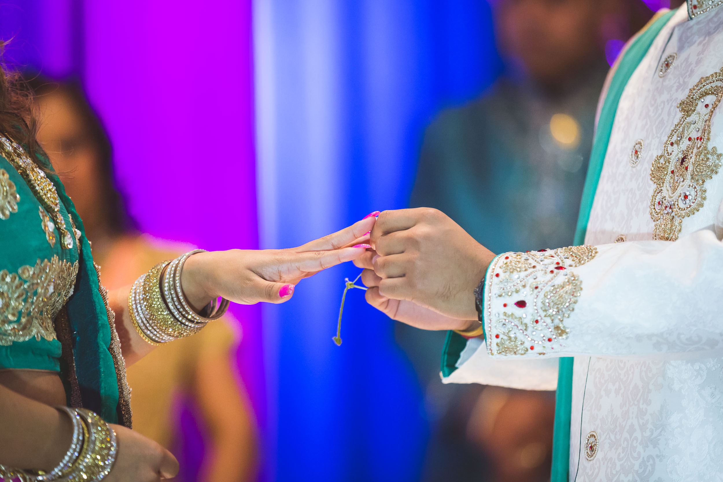 Pooja Ritual Engagement Ceremony from Felipe Sanchez with Petruzzo Photography 18