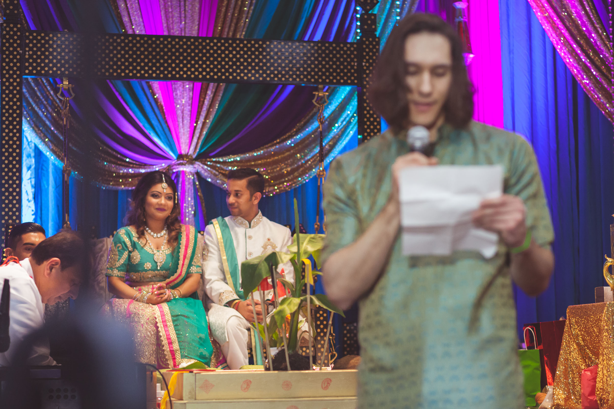 Pooja Ritual Engagement Ceremony from Felipe Sanchez with Petruzzo Photography 20