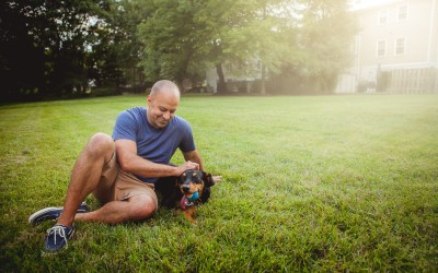 Casual Profile Portraits in Crofton Maryland