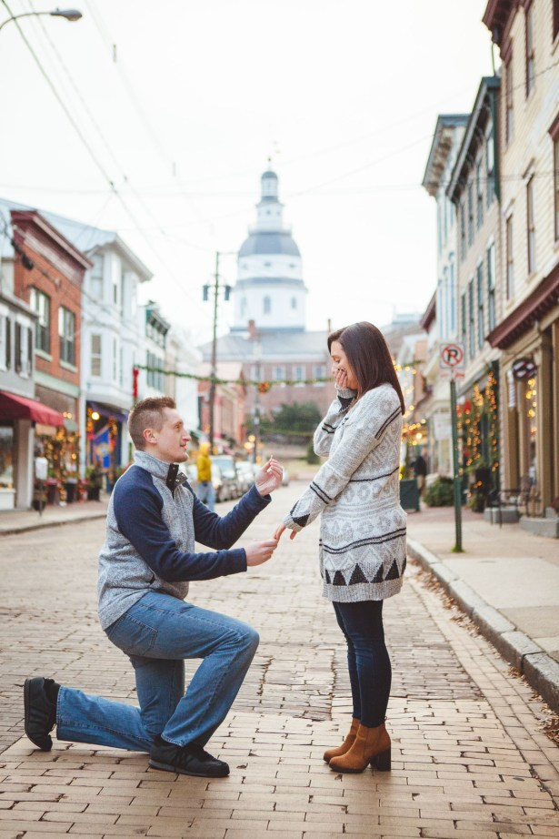 Engagement Session Turned Proposal Downtown Annapolis Petruzzo Photography 19