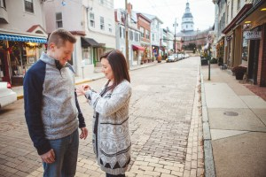 Engagement Session Turned Proposal Downtown Annapolis Petruzzo Photography 25