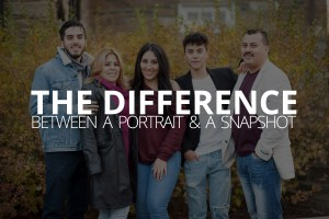 the difference between a portrait and a snapshot petruzzo photography