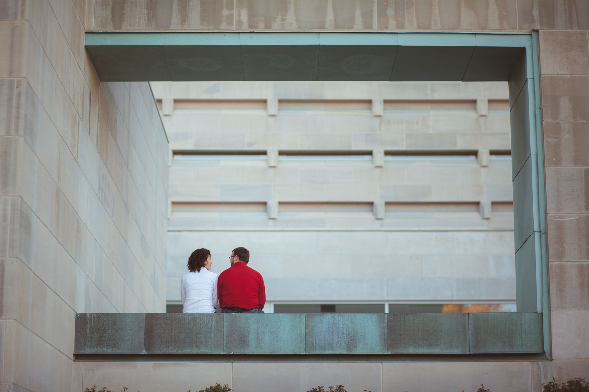 Engagement Session at John Paul 2 Memorial in DC Petruzzo Photography 05